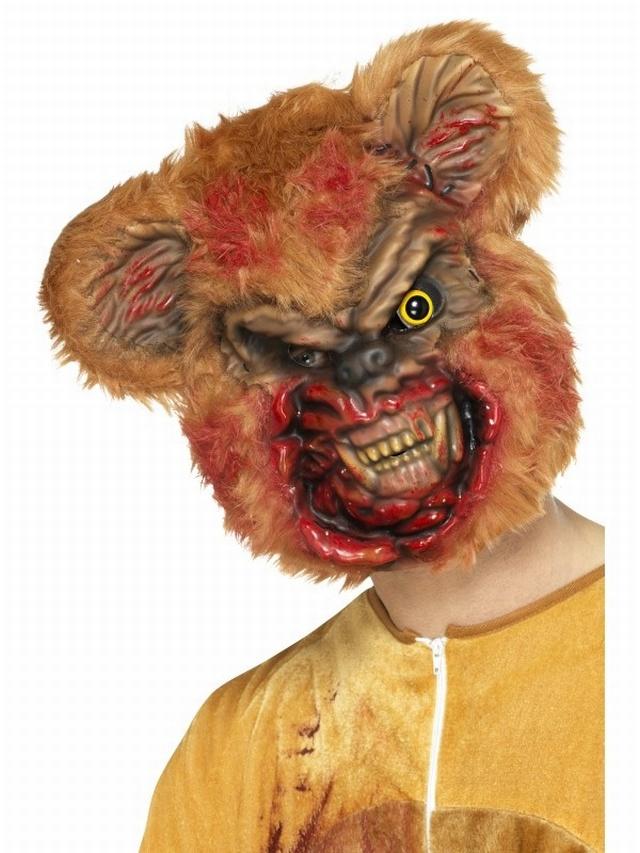 Halloween Masks Uk.Zombie Teddy Bear Mask From Www Pureparty Co Uk