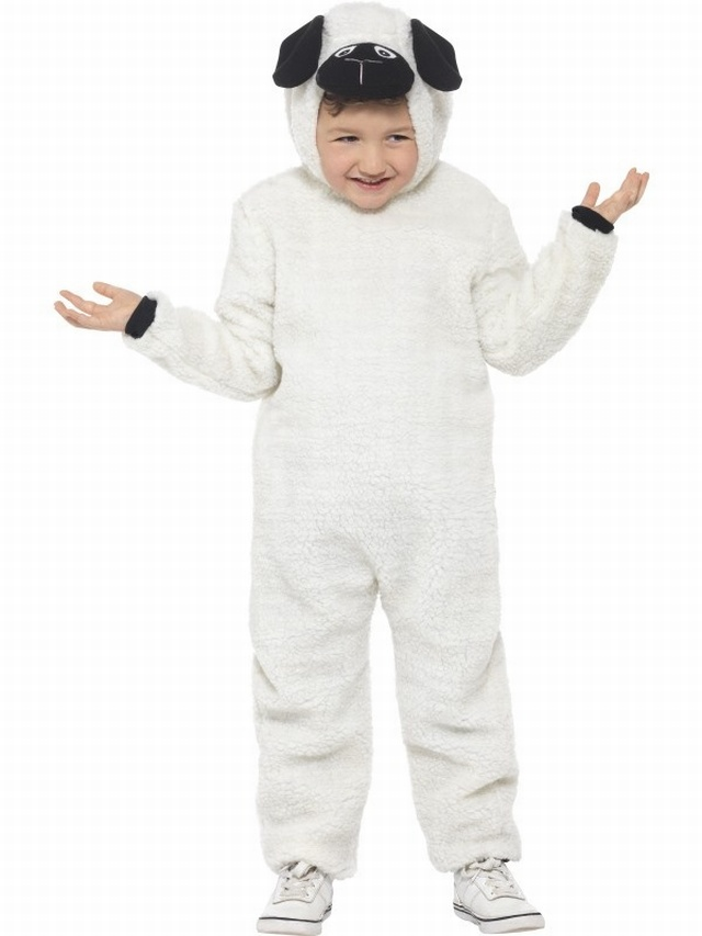 Sheep Costume £18.99 - Christmas - Kids Costumes Halloween FancyDress fancy dress balloons party goods face paints and More  sc 1 st  Halloween FancyDress fancy dress balloons party goods & Sheep Costume £18.99 - Christmas - Kids Costumes Halloween ...